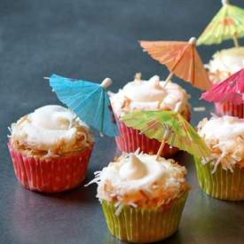 How To Make Pina Colada Cupcakes