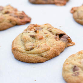 Choc Chip Snickers Cookies