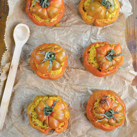 Millet Stuffed Tomatoes