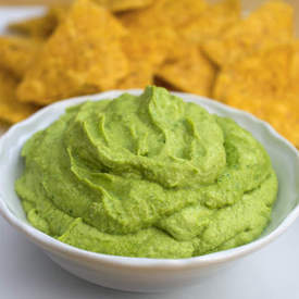 Fava Bean and Avocado Dip