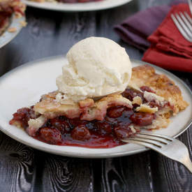 Cherry Pinot Noir Pie
