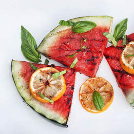 Savory Grilled Watermelon