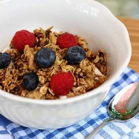 Maple Walnut Granola