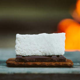 Chai Tea S'mores with Cardamom Marshmallows