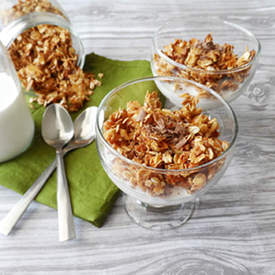 Honey Coconut Granola
