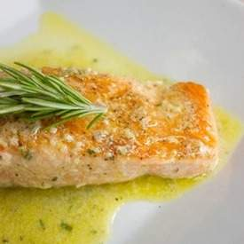 Pan Seared Salmon with Citrus Sauce