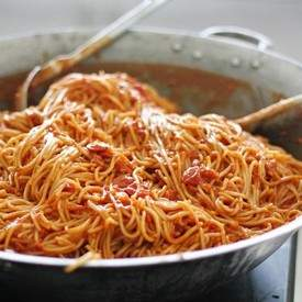 Filipino Spaghetti with Pork