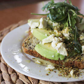 Avocado Toast with Dukkah and Feta