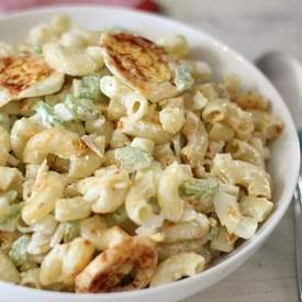 Lightened Up Macaroni Salad