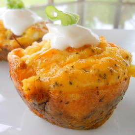 Amazing Muffin Cups with Zucchini Crust