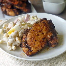 Honey Glazed Spicy Chicken Thighs