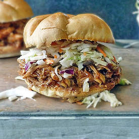 Barbecue Pulled Chicken Sandwich Recipe