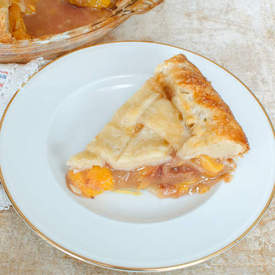Peach Pie & All Butter Pie Crust