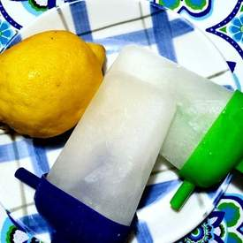 Lemon and Thyme Ice Pops
