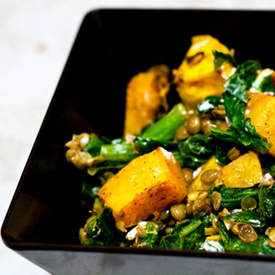 Spicy Butternut Squash Salad