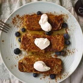 Banana Bread French Toast (paleo)