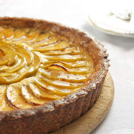 Apple-Cheesecake Tart