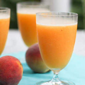 Peach Wine Slushies