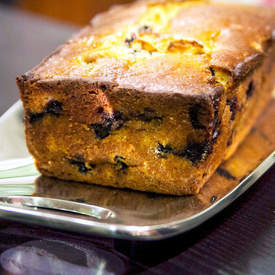 Blueberry Honey Quick Bread