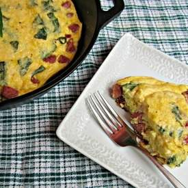 Turkey  Smoked Sausage Frittata