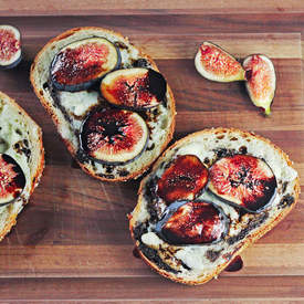 Fig and Blue Cheese Sandwiches