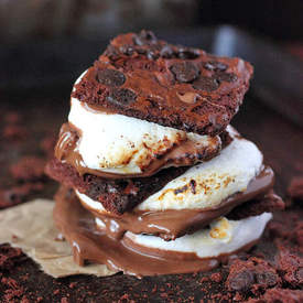 Brownie Brittle Smore's