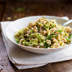 Chopped Brussels Sprout Salad