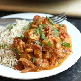 Weeknight tikka masala