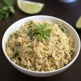Healthy Cilantro Lime Rice