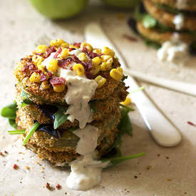 """Fried"" Green Tomato Stack"