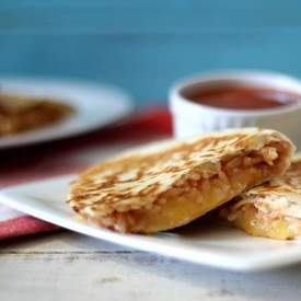 Cheesy Brown Rice Quesadillas