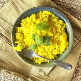 Lemon Ginger Basmati Rice