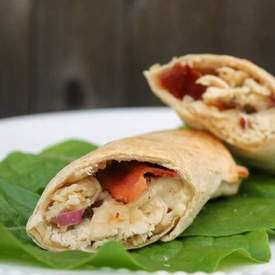Crock Pot Chicken Bacon Ranch Wraps