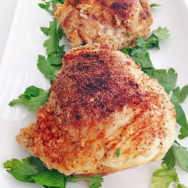Lemon Herb Chicken Thighs