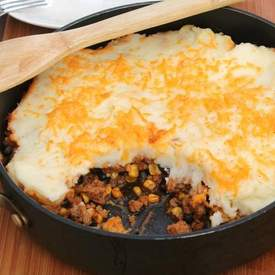 One Pot Mexican(ish) Shepherd's Pie