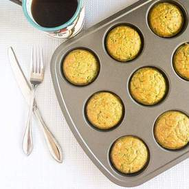 Spinach Almond Amaranth Breakfast Muffins