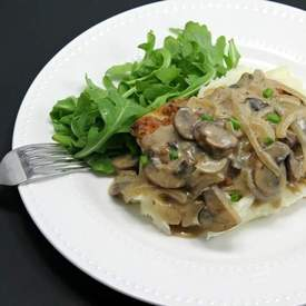 Creamy Smothered Chicken