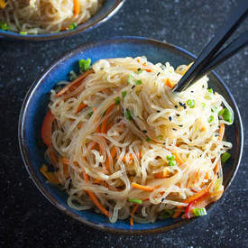 Easy Sesame Shirataki Noodles
