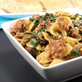 One Pot Sausage Orecchiette