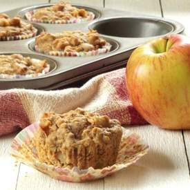 Apple Chunk Apple Cider Muffins