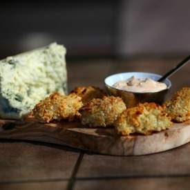 Cauliflower Potatoe Blue Cheese Tots