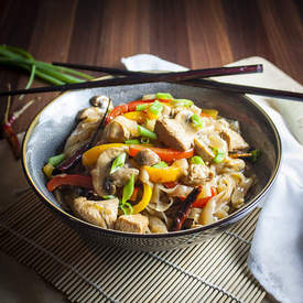 Kung Pao Chicken Shirataki Noodles