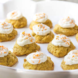 Pumpkin - Coconut Cookies
