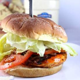 Grilled Buffalo Chicken Sandwich