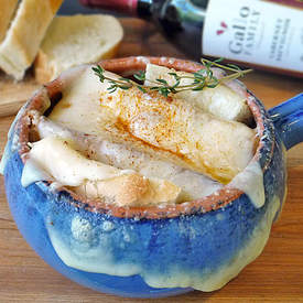 Cheesy French Onion Soup Recipe