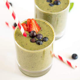Very Berry Spinach Smoothie