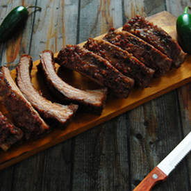 Blackberry Baby Back Ribs