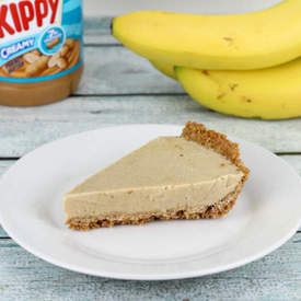Peanut Butter Banana Ice Cream Pie