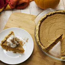 Easy Gluten Free Pumpkin Pie