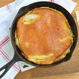 German Pear Pancake